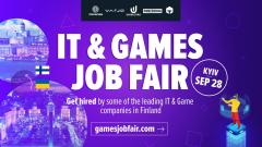Ежегодная рекрутинг конференция IT and Games Job Fair